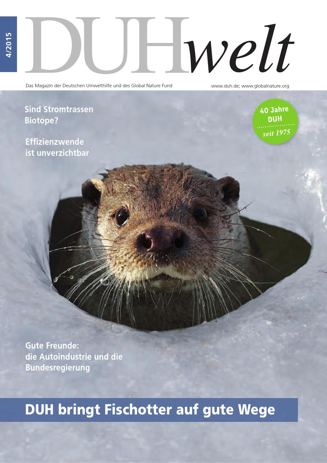 DUHwelt 4/2015 by Deutsche Umwelthilfe - issuu