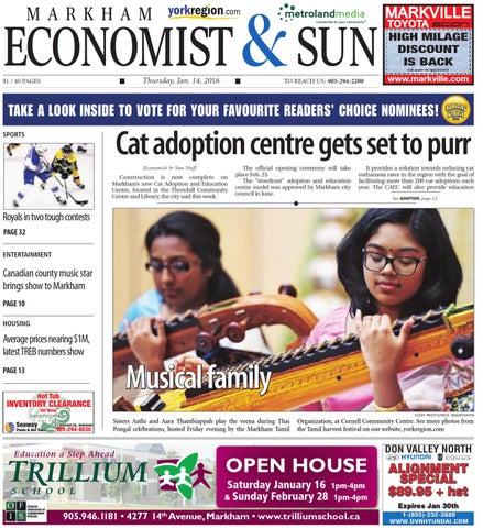 098ee5023f2 Markham Economist January 14 by Markham Economist   Sun - issuu