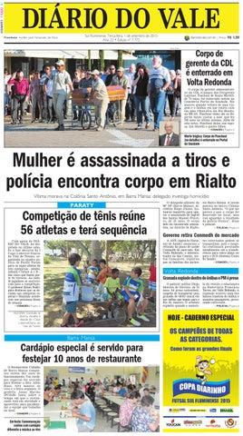 7772 diario terca feira 01 09 2015 by Diário do Vale - issuu 355e14b6035