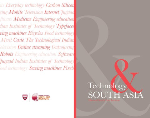 Technology and South Asia by The Lakshmi Mittal and Family South