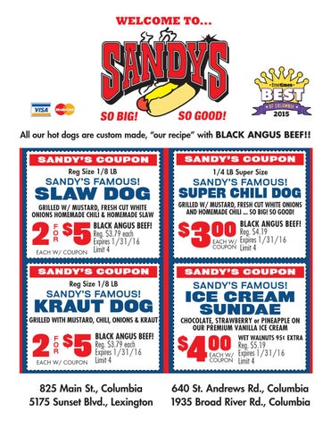 hot dogs coupons