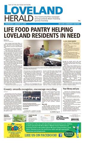 Loveland Herald 011316 By Enquirer Media Issuu