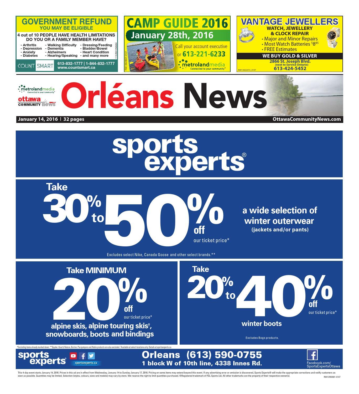 Ottawaeast011416 by Metroland East - Orleans News - issuu