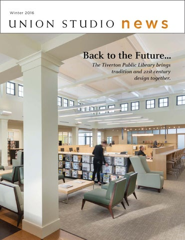 Back To The Future The New Tiverton Library By Union Studio