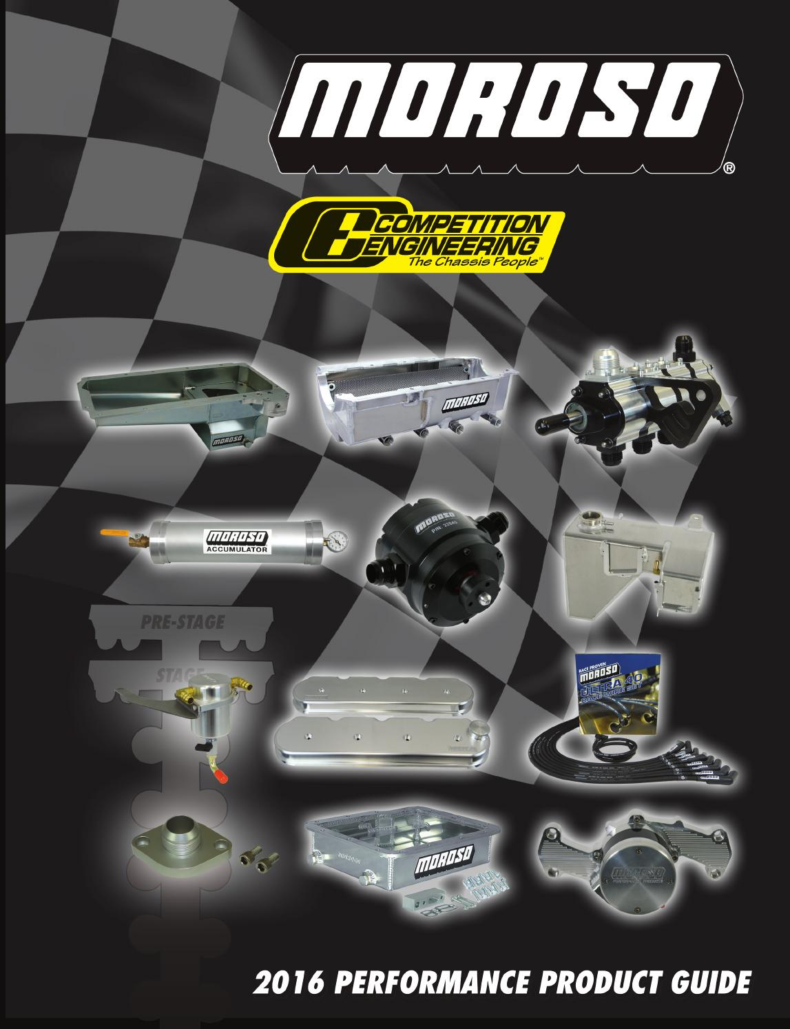 2016 Moroso Issu Catalog By Performance Products Issuu 2010 Camaro V6 Fuse Block Diagrams Bowtie 5th Gen
