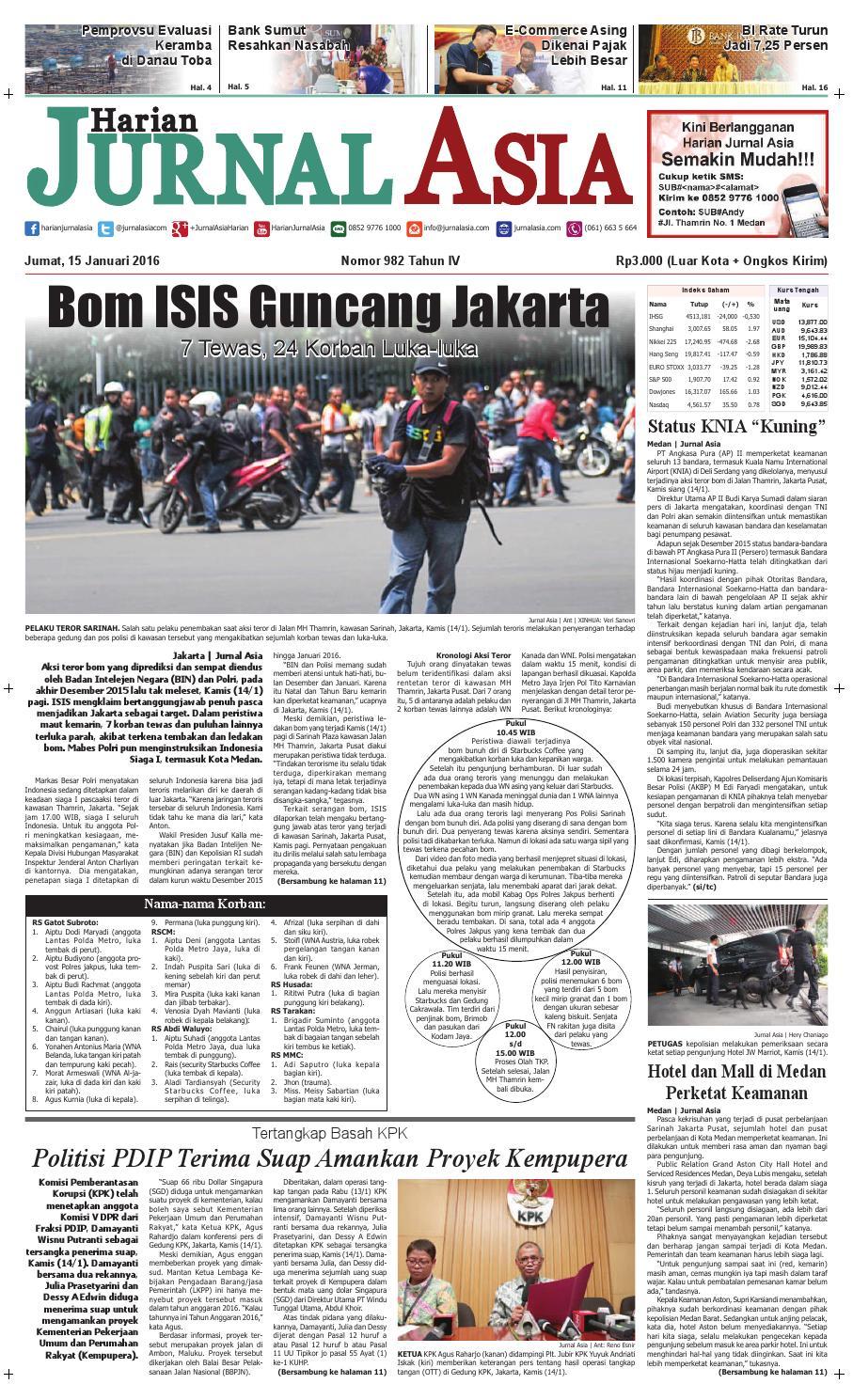 Harian Jurnal Asia Edisi Jumat 961b6adc3d