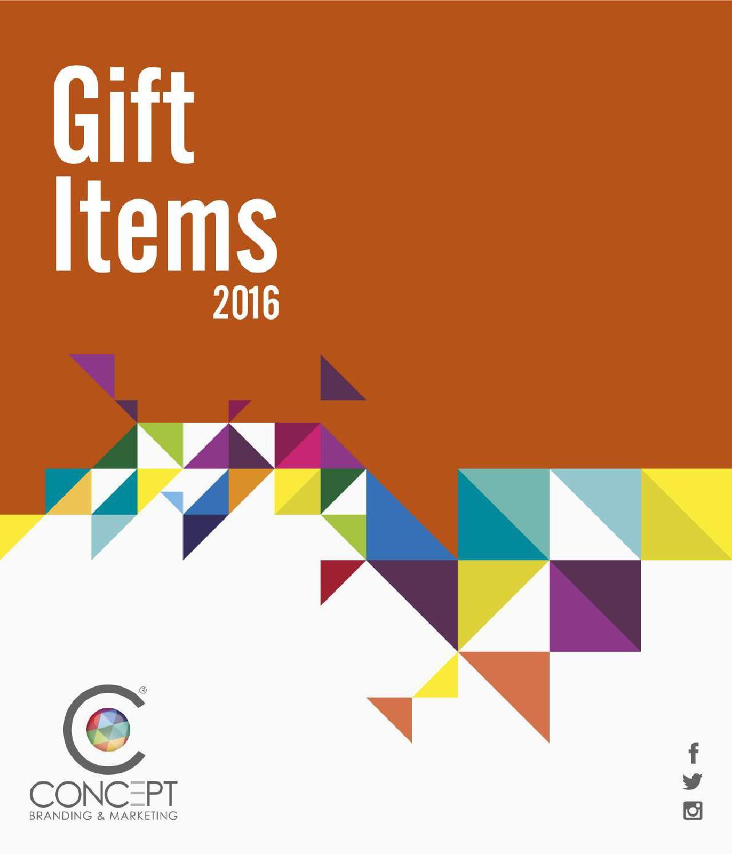 Gifts Catalog 2016 By Concept Issuu Ensure Vanila 400gr 15 Klg Trolley Bag