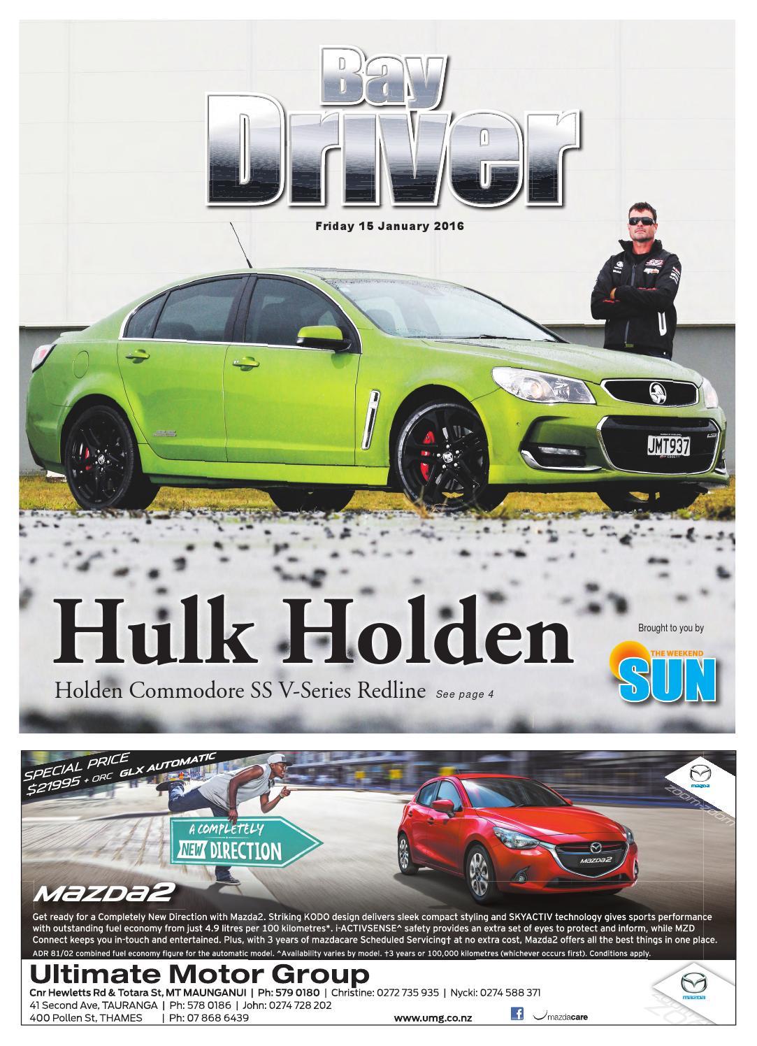 Bay Driver 15 January 2016 by Sun Media - issuu