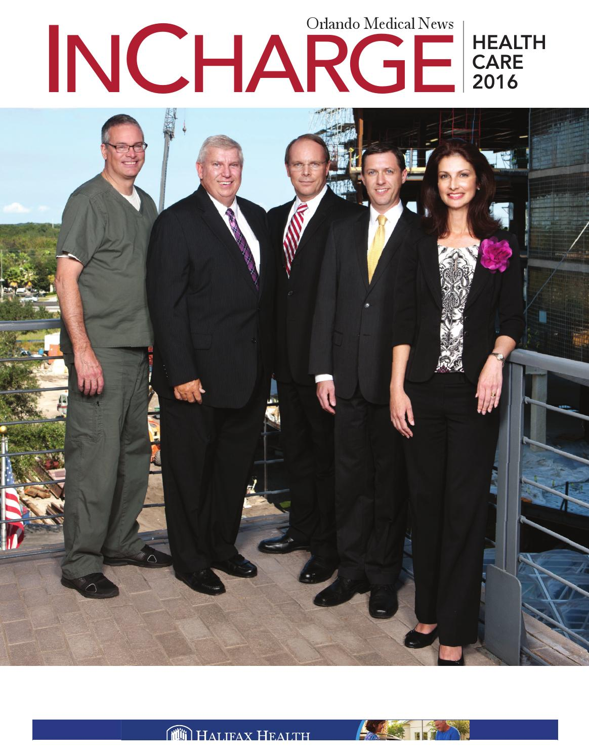 orlando medical news incharge healthcare 2016 by southcomm inc