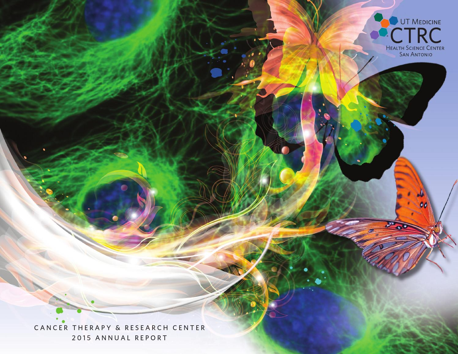 Cancer Therapy & Research Center (CTRC) Annual Report 2015