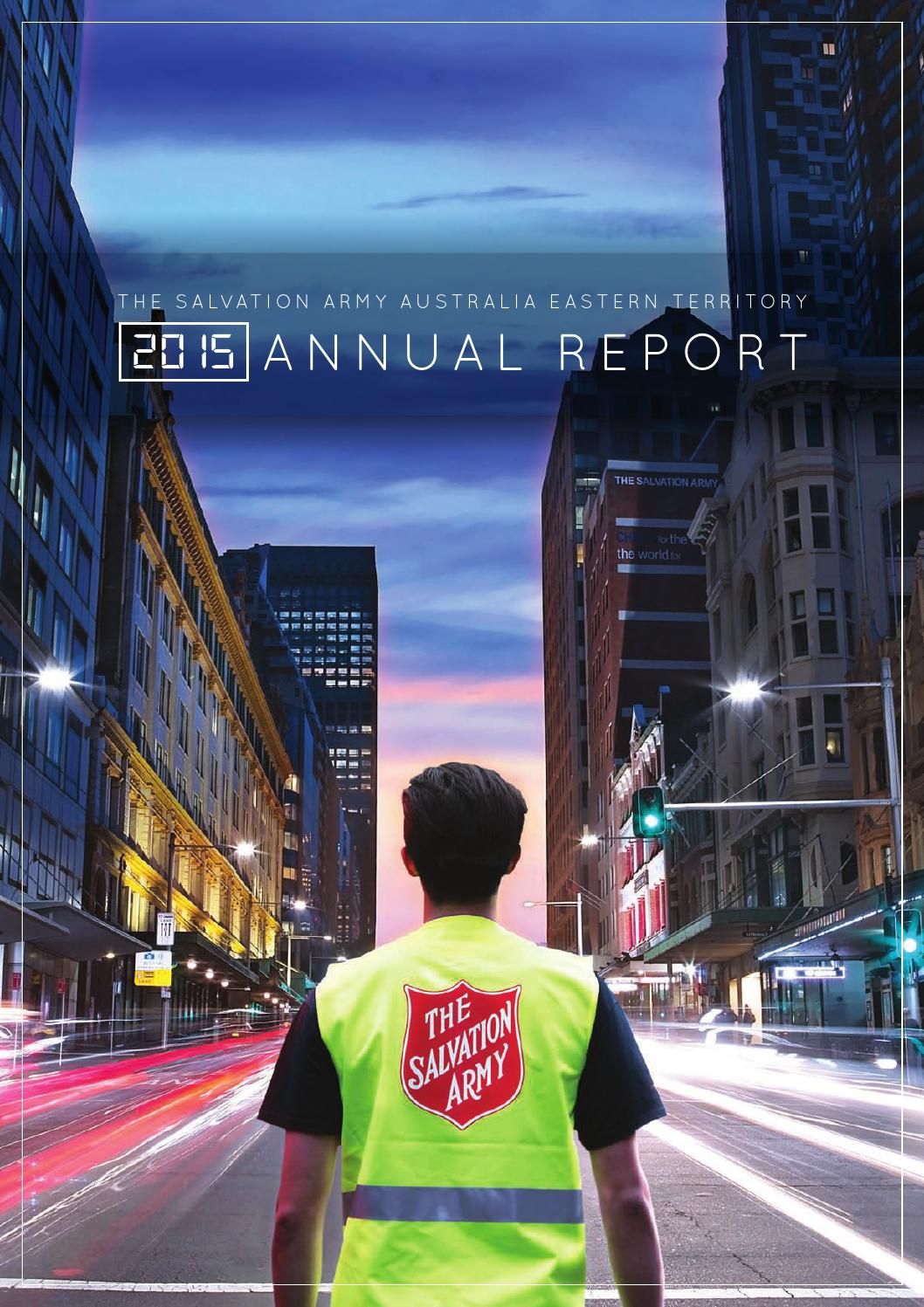 The Salvation Army Australia Eastern Territory Annual ...