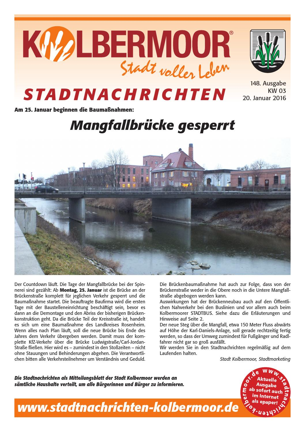 148 Stadtnachrichten Kolbermoor By Hans Peter Issuu
