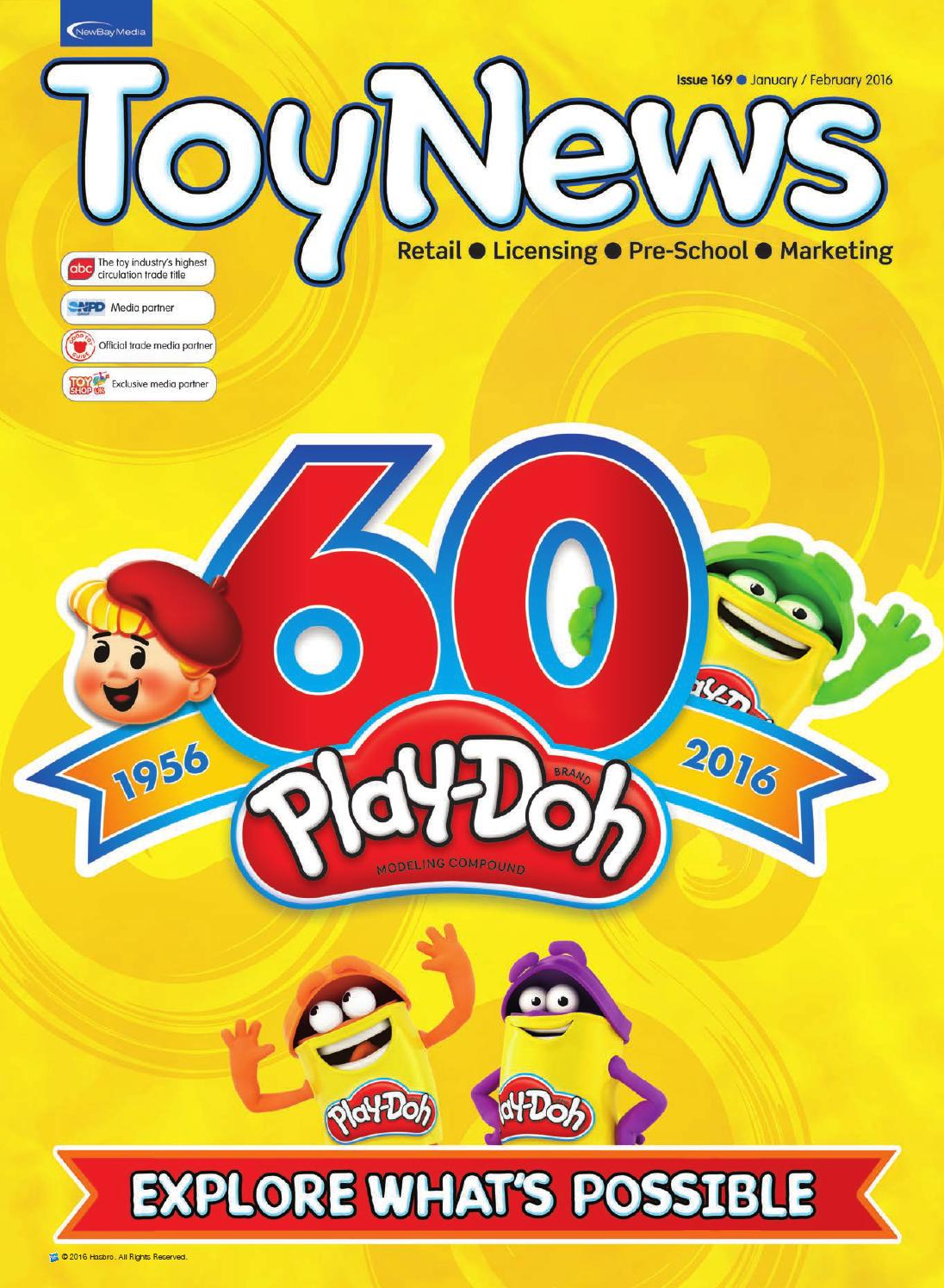 Toynews 169 January February 2016 By Future Plc Issuu Mao Mini Market Playset Pink