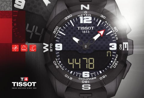 d3fe60368d89 innovators by tradition tissot.ch ©TISSOT SA – PRINTED IN CH 09 2015