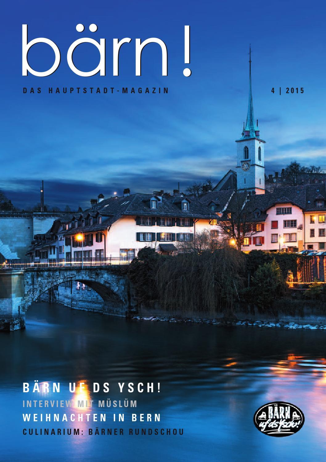 Magazin bärn! 4.15 by BÄRN! Magazin issuu