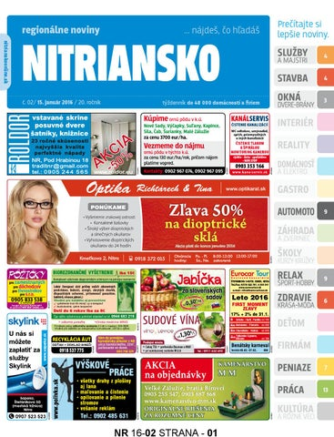 9c4983754c9c Nitriansko 16 02 by nitriansko nitriansko - issuu