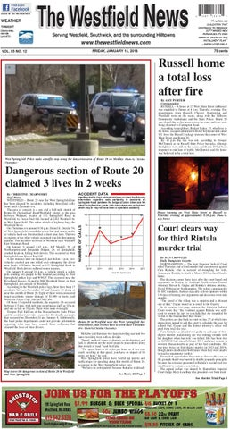 Friday January 15 2016 By The Westfield News Issuu