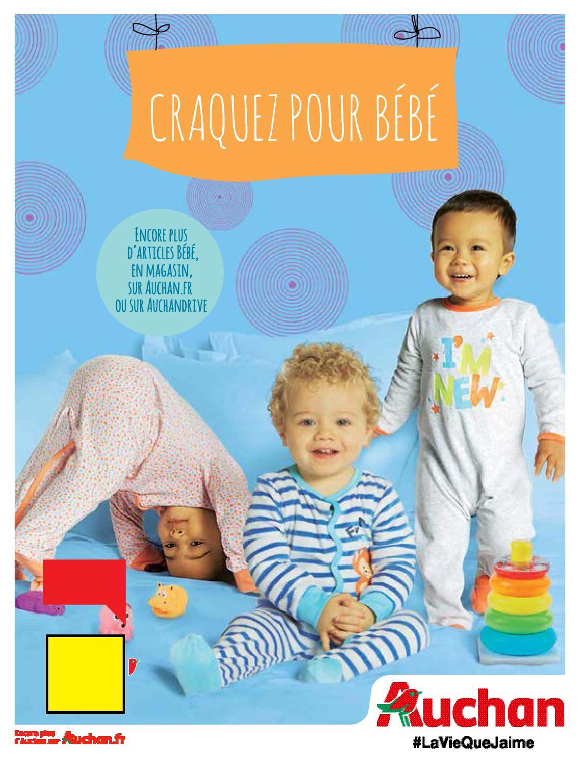 6d28de07969e4 Catalogue Auchan spécial Bébé janvier 2016 by LSA conso - issuu