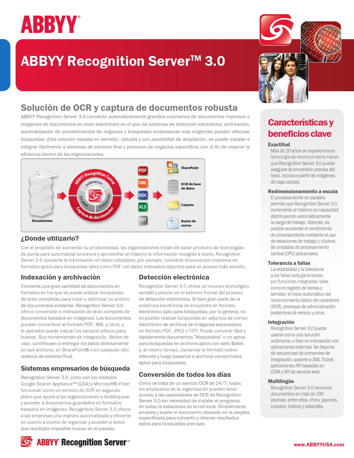 ABBYY - Spanish Software Brochure by PAULO MORENO - issuu