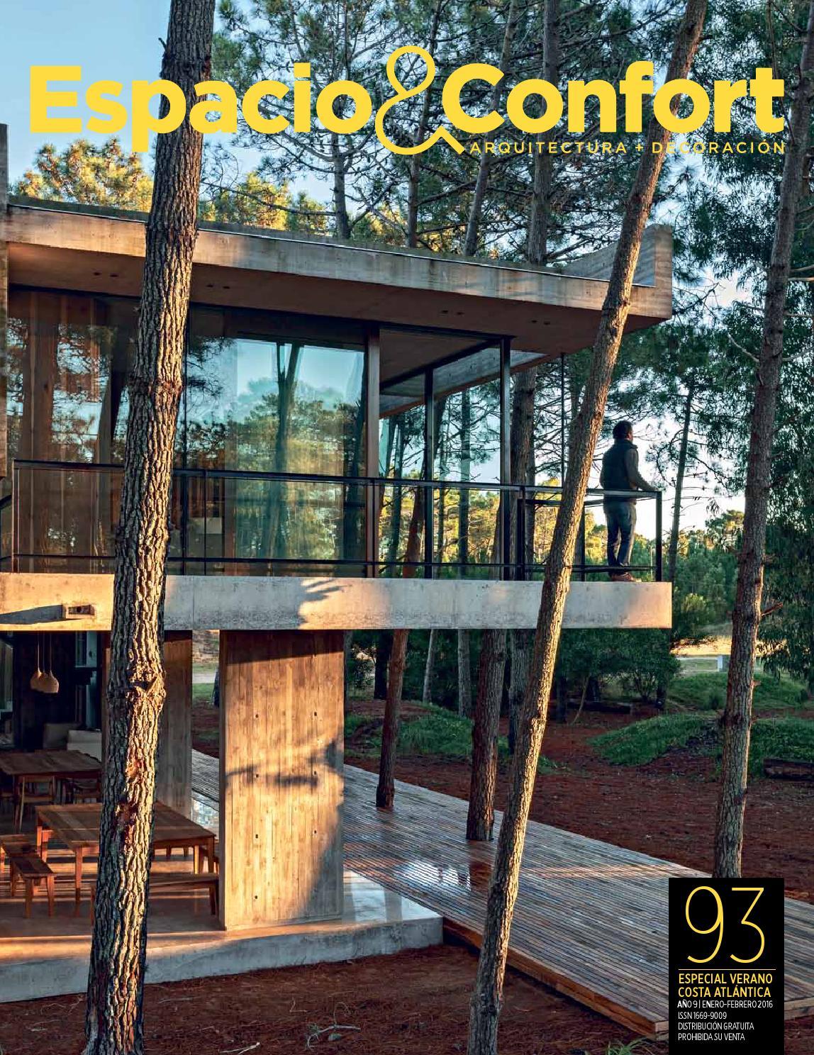 93 Costa Verano By Revista Espacio Confort Arquitectura  # Muebles Luberto Mdp