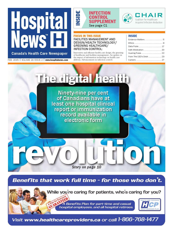 Hospital News 2015 February Edition by Hospital News - issuu