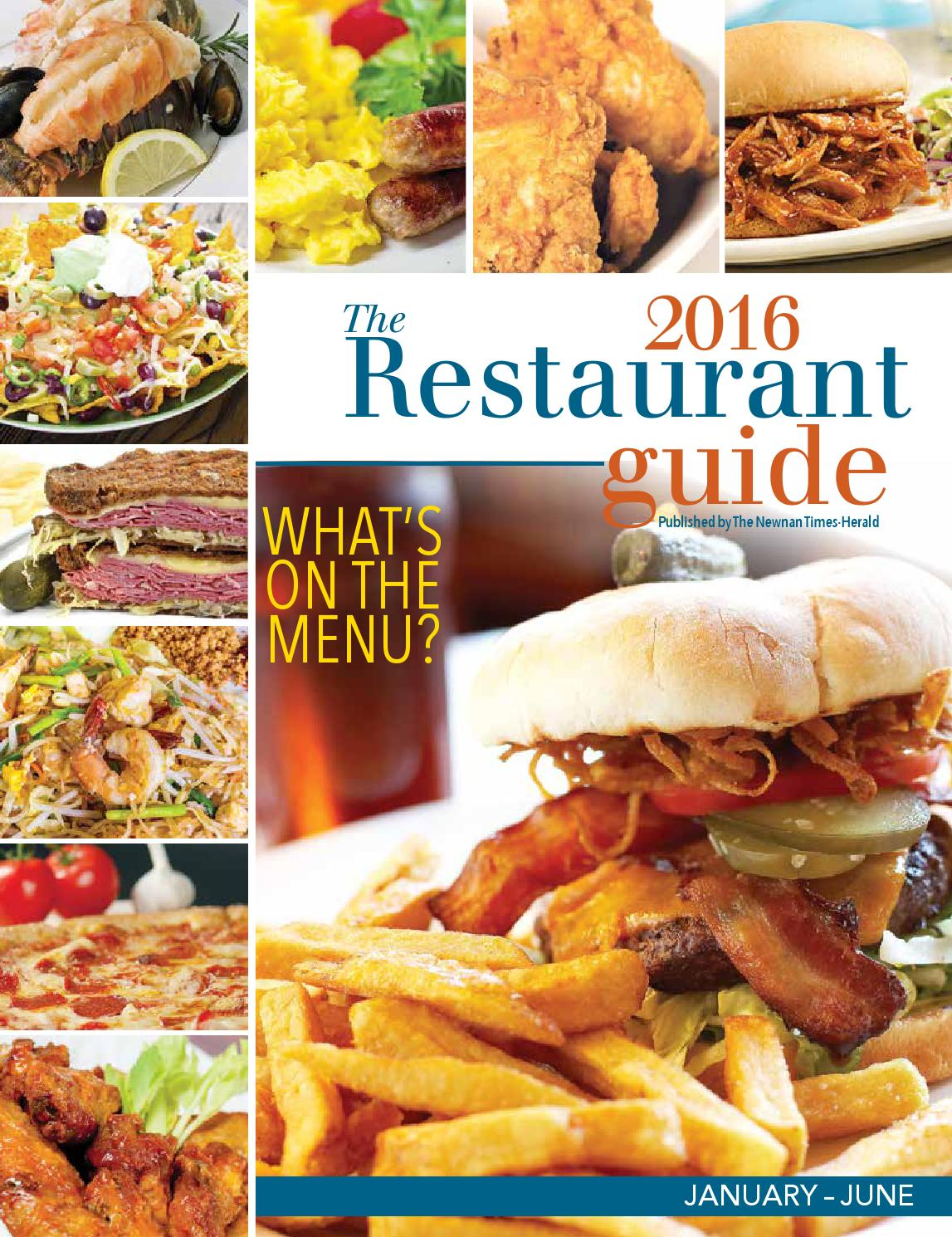Restaurant Guide 2016 By The Times Herald Issuu