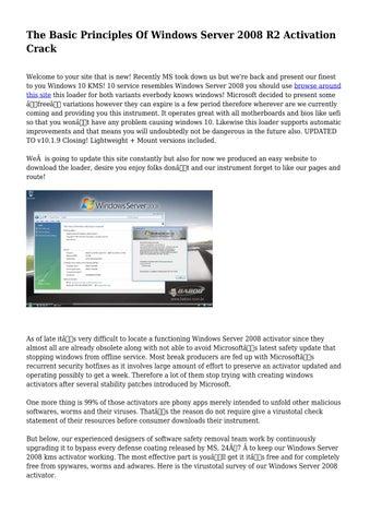 Windows server 2003 r2 activator download   How to Activate