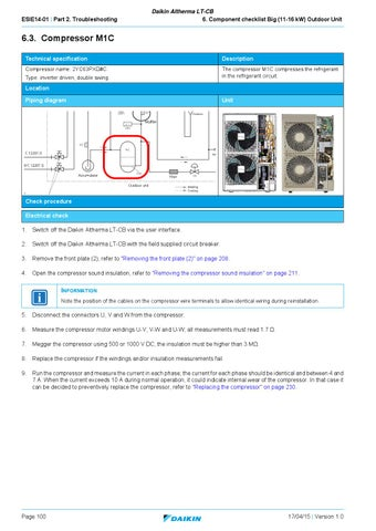Daikin altherma lt cb english service manual by paulo moreno issuu page 100 publicscrutiny Gallery