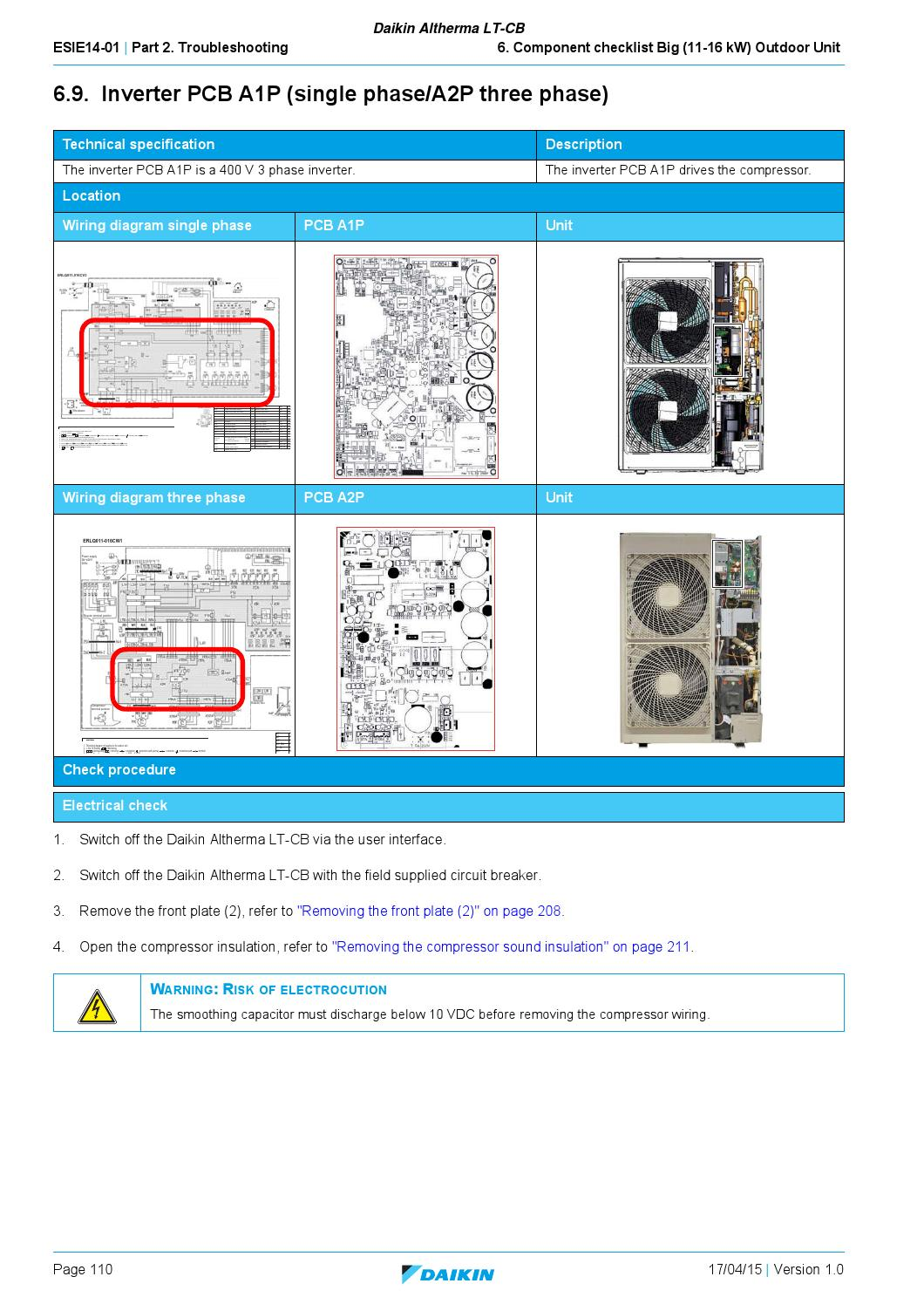 Daikin Altherma LT-CB - English Service Manual by PAULO MORENO - issuu
