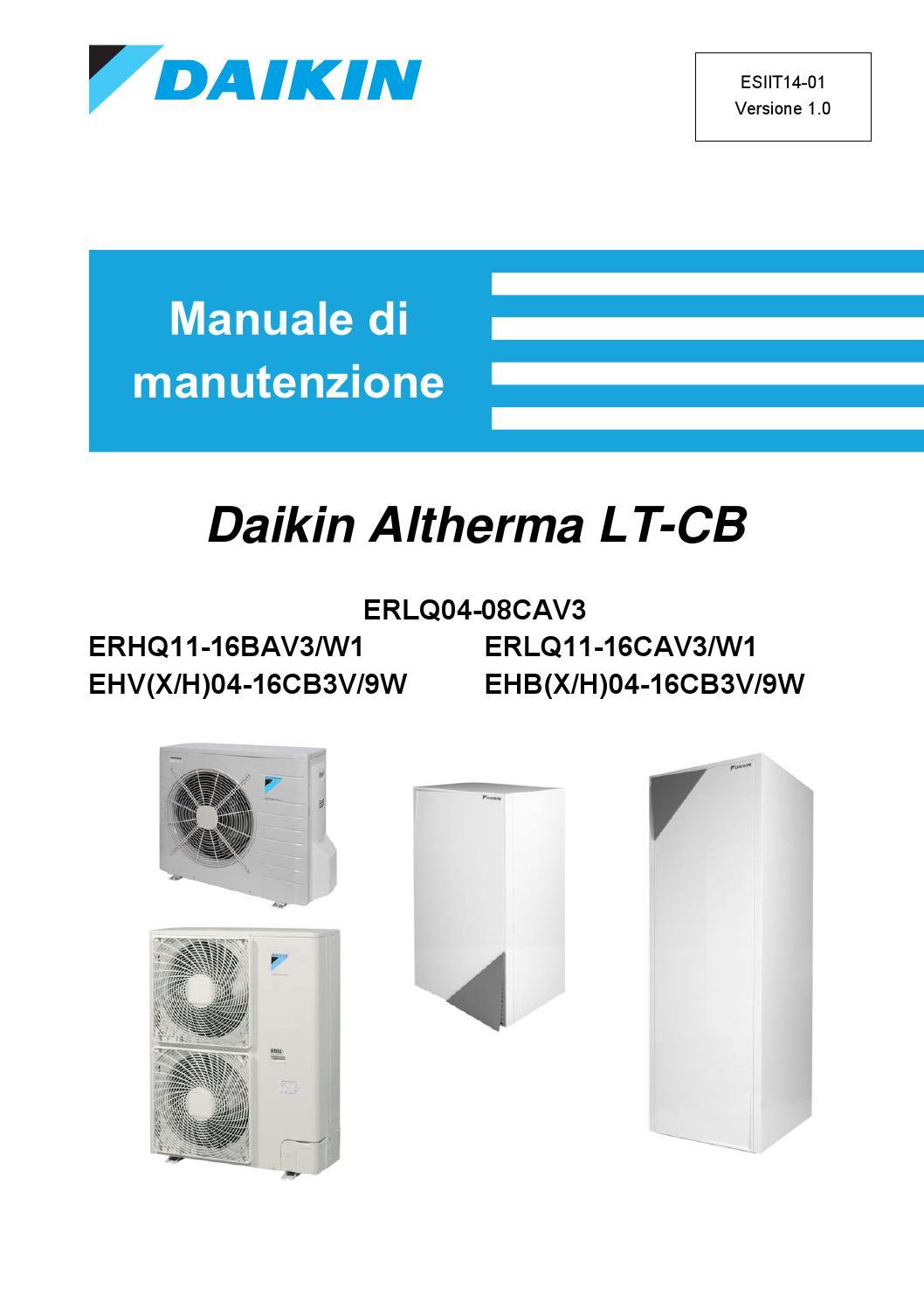 Schema Elettrico Daikin : Daikin altherma lt cb italian service manual by paulo moreno issuu