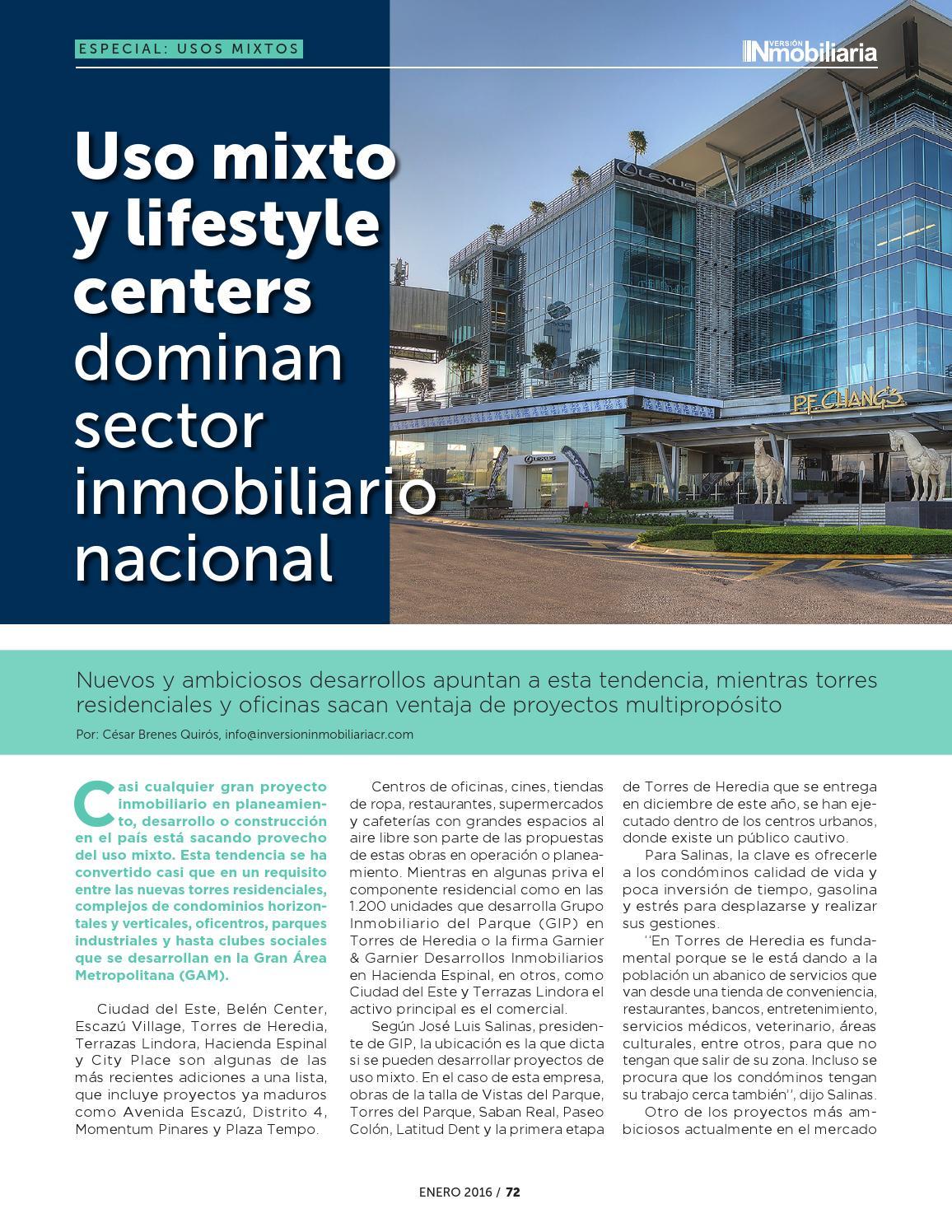 Revista Inver Inmo Costa Rica Edición 4 By Revista