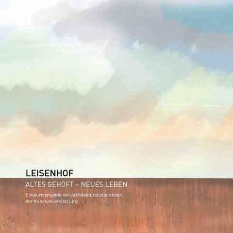 Wunderbar Broschüre Uniprojekt Leisenhof 2015 By Hnah   Issuu