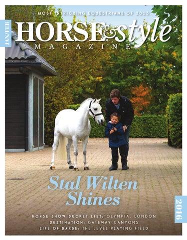 Horse   Style Magazine Jan Feb 2016 by Horse   Style Magazine - issuu d63243422064