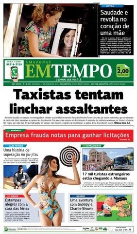 971fe121b EM TEMPO - 17 de janeiro de 2016 by Amazonas Em Tempo - issuu