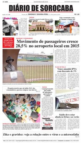 d59096c9e Edição de 17 de janeiro de 2016 by DIÁRIO DE SOROCABA - issuu