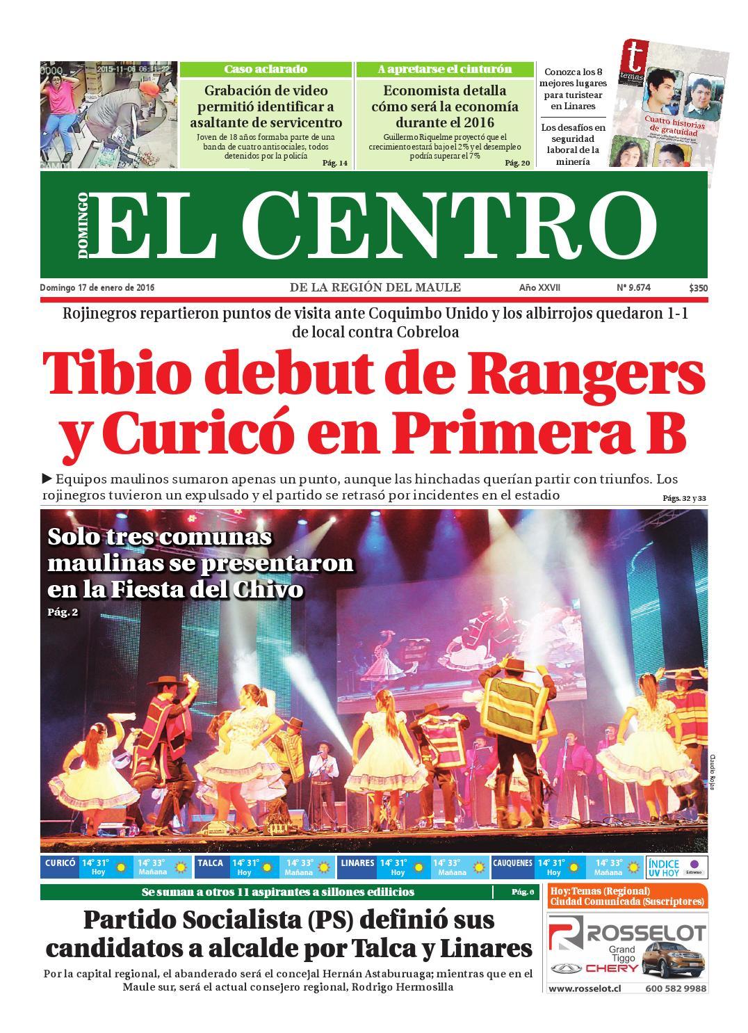 db6ec7fb4d072 Diario 17-01-2016 by Diario El Centro S.A - issuu