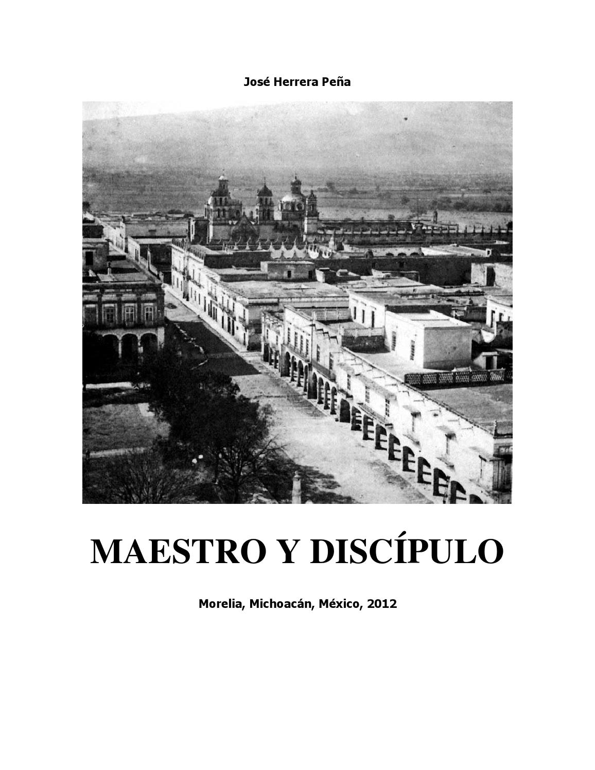 Maestro y discípulo by José HerreraPeña - issuu