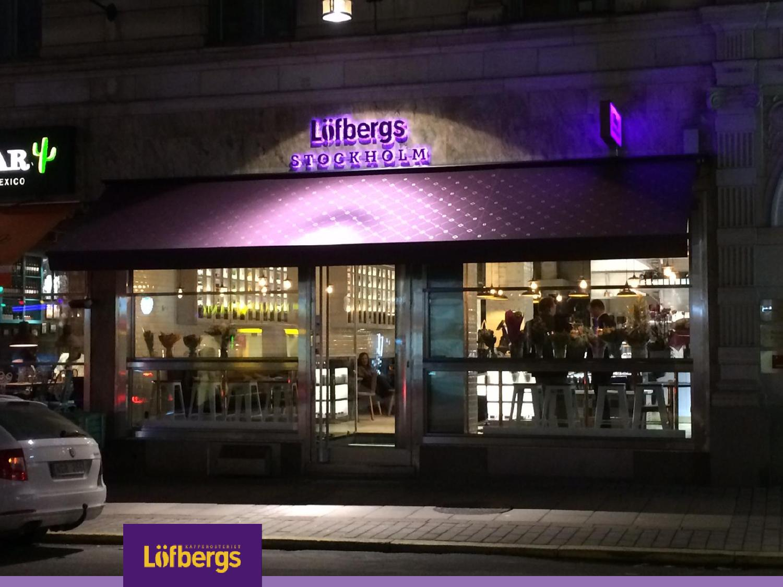 löfbergs lila café