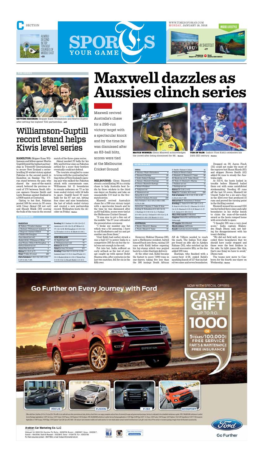 Times of Oman - January 18, 2016