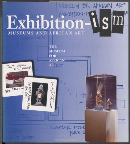 Exhibition Ism Museums And African Art By The Africa Center
