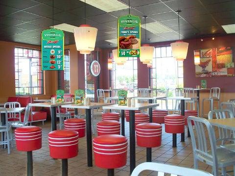 Danglers Table Talkers Scene By Daniel K Issuu - Restaurant table talkers