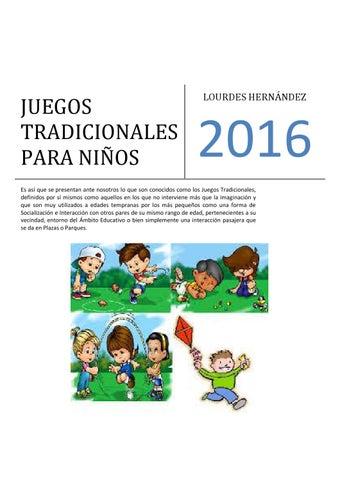 Juegos Tradicionales Para Ninos By Teresa Hernandez Issuu