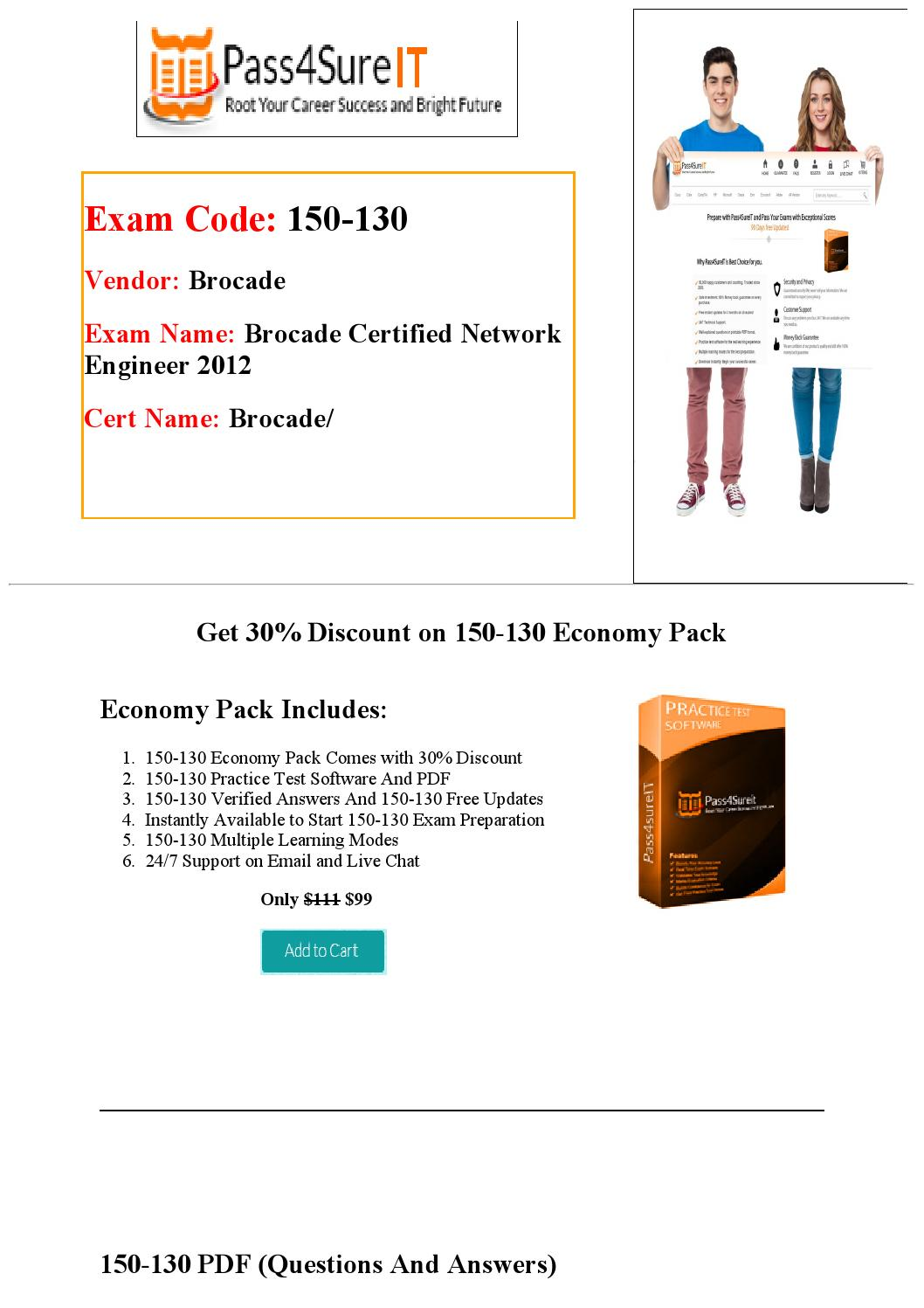 Pass4sure 150 130 Exam Questions 100 Success Guaranteed By Brown