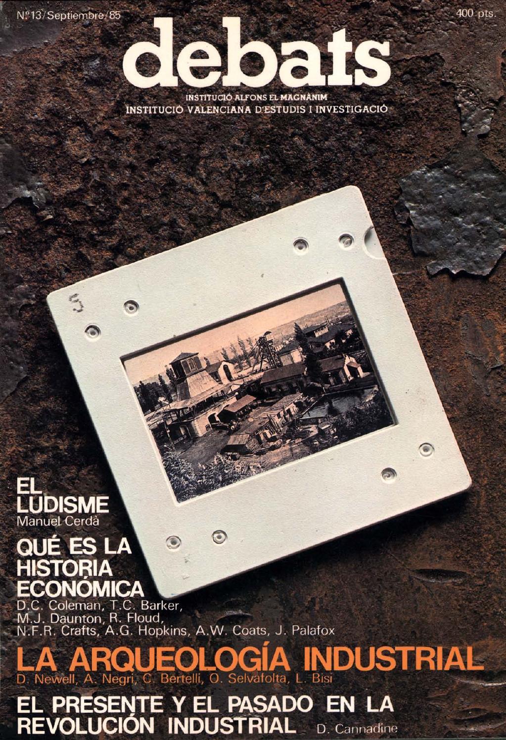 d4992683 Revista Debats. Número 13. Septiembre 1985 by Faximil Edicions Digitals -  issuu