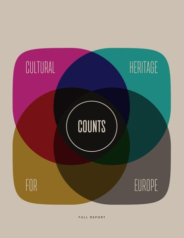 Cultural Heritage Counts for Europe - Full Report by Europa