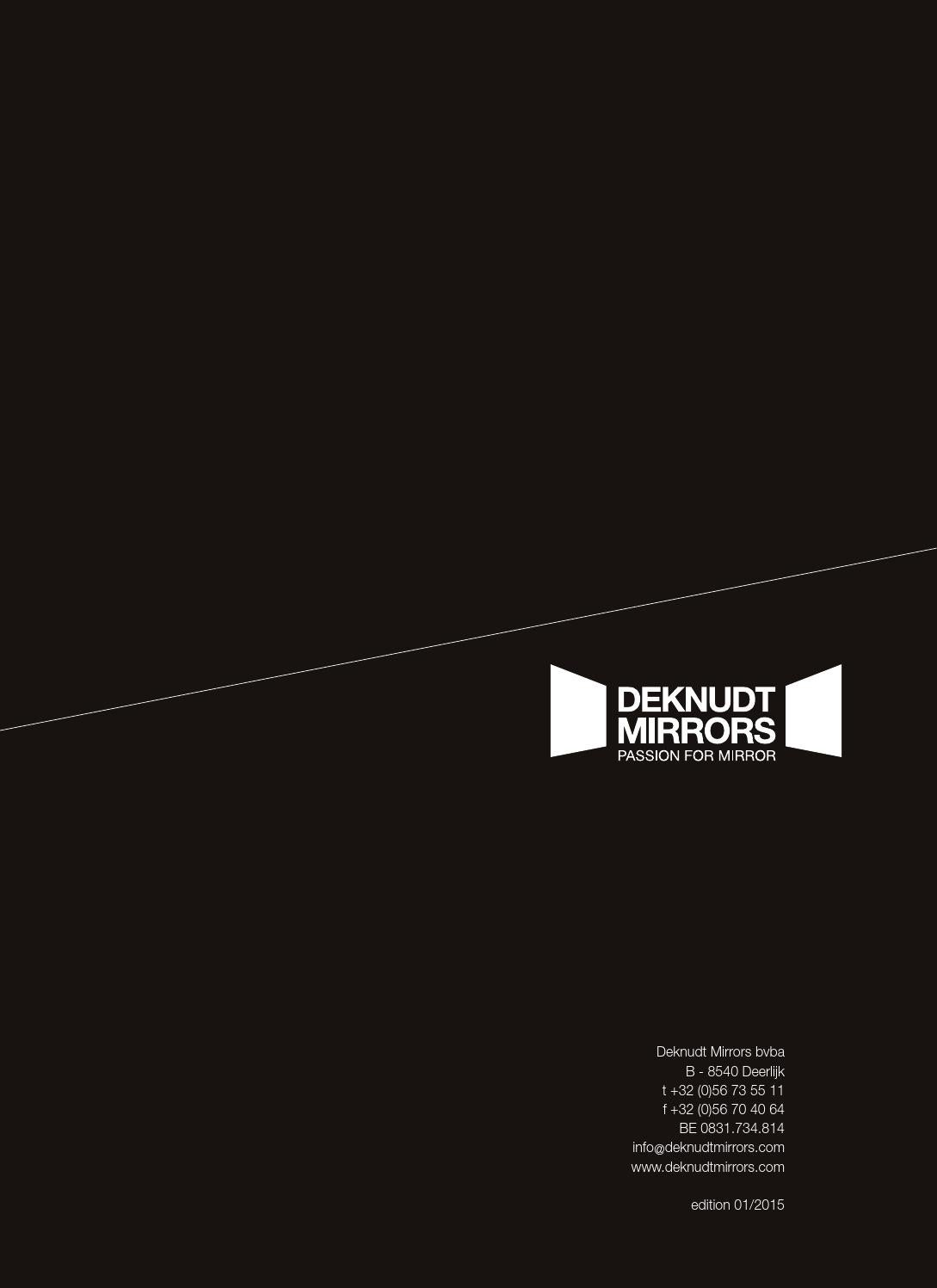 Catalogue Deknudt Mirrors 2015 by DeknudtMirrors - issuu