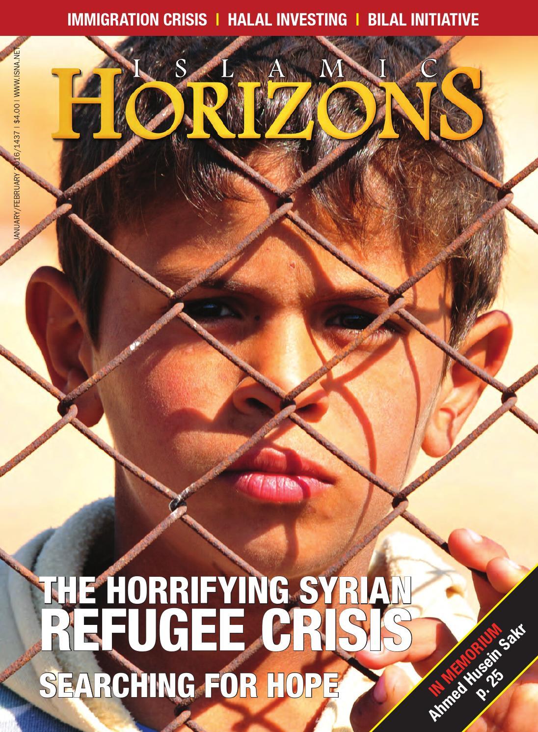 Islamic Horizons Jan/Feb 2016 by Islamic Society of North