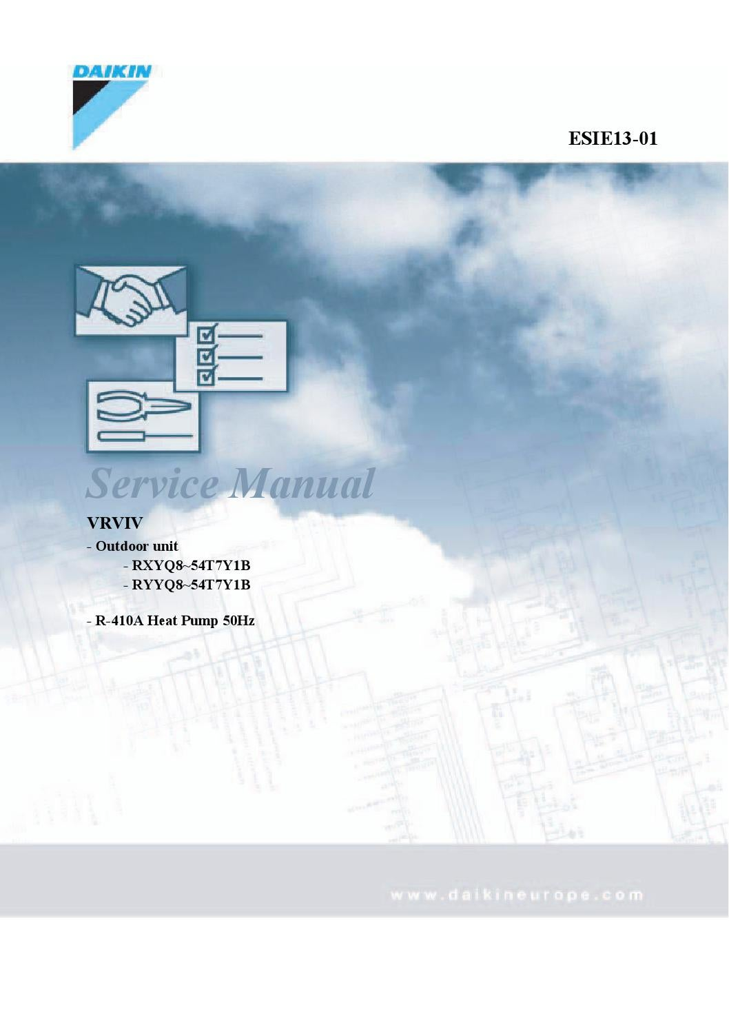 Daikin VRVIV - English Service Manual by PAULO MORENO - issuu