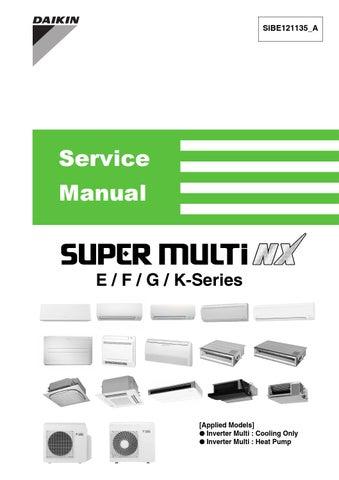 manual book daikin online user manual u2022 rh pandadigital co daikin vrv service manual daikin vrv ii service manual