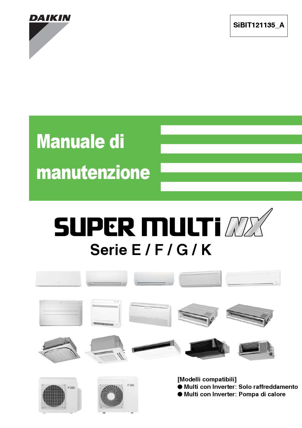 Schema Elettrico Daikin : Daikin italian service manual by paulo moreno issuu